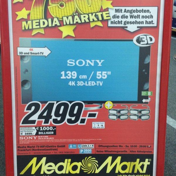 Sony KD 55 X 9005