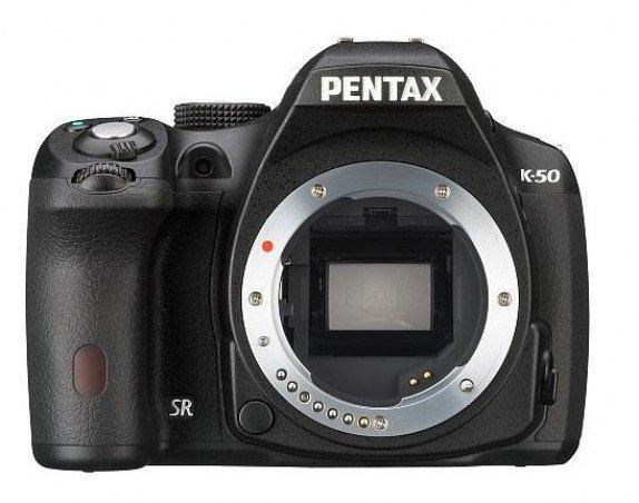 Pentax K-50 Body/Gehäuse wetterfest nur 399 EUR bei Foto-Erhardt (oder +5,90 Versand)