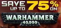 Warhammer 40000 Weekend Sale @GameFly