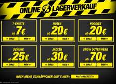 Planet Sports Lagerverkauf