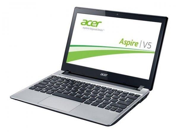 Amazon [WHD] Acer Aspire V5-131-10074G50ASS 29,5 cm (11,6 Zoll) Notebook (Intel Celeron 1007U, 4GB RAM, 500GB HDD, Intel HD, kein OS) silber