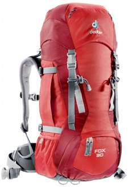 [karstadt-sport.de] Deuter Wanderrucksack Fox 30 L Farbe fire-cranberry für 64,95 € ohne Vsk