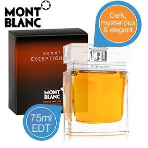 Montblanc Homme Eau de Toilette 75 ml Exceptionnel für 19,95€ zzgl. 5,95€ Versand @iBOOD