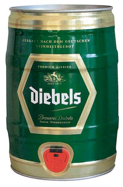 [REAL] Partydose Diebels Alt Altbier 5,0 Liter Dose 6,49 Euro