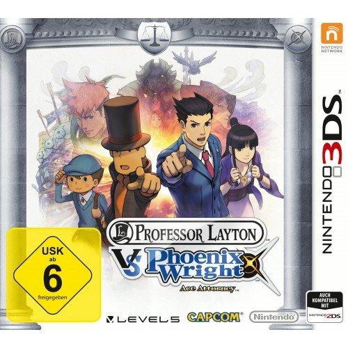 3DS  Professor Layton vs. Phoenix Wrigth: Ace Attorney  34,99€  Müller Sonntagsknüller