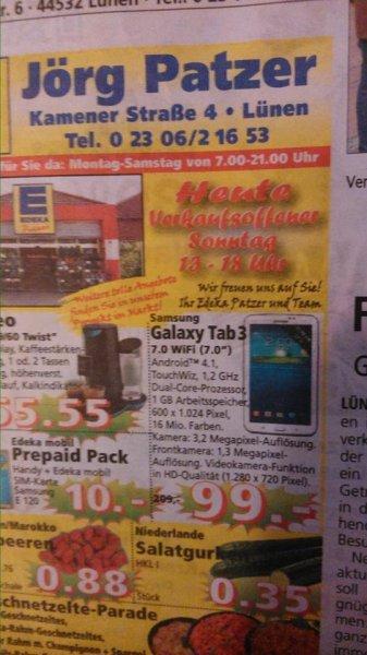 Samsung Galaxy Tab 3 7.0 WIFI  99€ Lünen