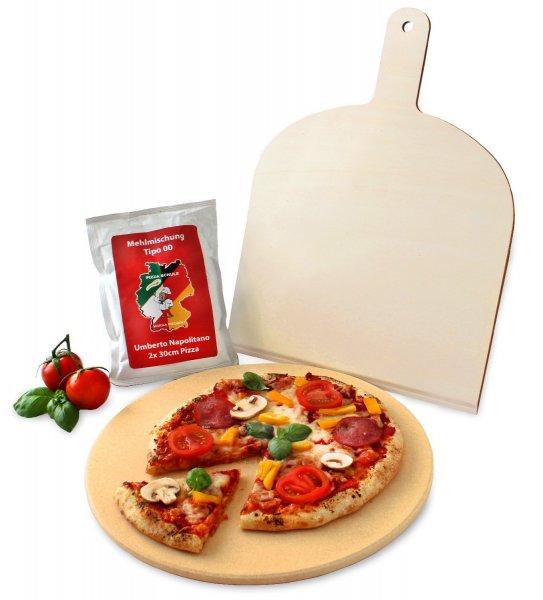 Vesuvo V38001 Pizzastein- / Brotbackbackstein Set für Backofen und Grill für 24,95€ frei Haus @Amazon Blitz