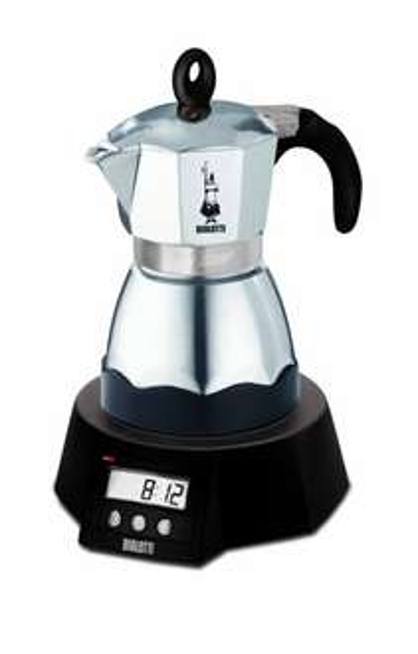 [WHD] Bialetti Easy Timer elektrischer Espressokocher für 3 Tassen / Alu