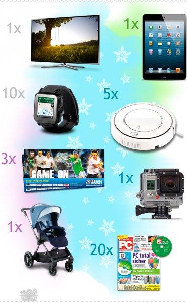 Kauftipp Ostergewinnspiel - iPad, Samsung LED 3D und vieles mehr