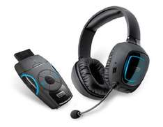 Crea­tive Sound Blas­ter Recon3D Omega Wire­less SBX-Head­set für PS4, PS3, Xbox, PC und Mac schwarz @Amazon.co.uk
