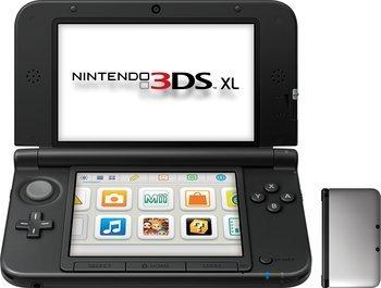 Nintendo 3DS XL schwarz 154,89 inkl. VSK bei Vorkasse