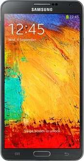 Samsung Galaxy Note 3 32GB, black, B-Ware 360,94€ inkl. Versand