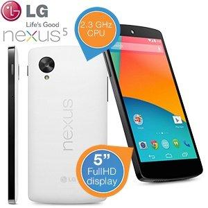 [ibood] Google Nexus 5 32 GB weiß für 356€