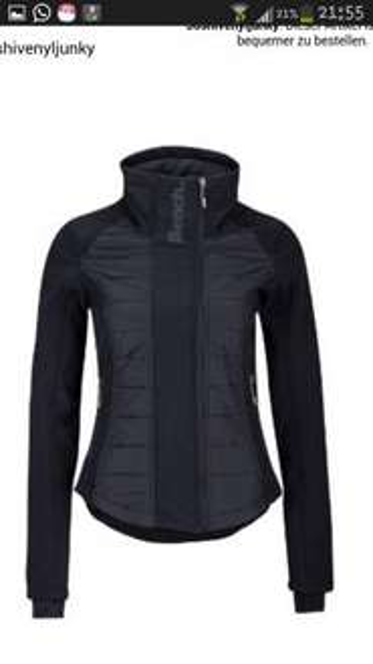Bench Damen Jacke Wisecrack, black (BK001), XS, S, M, XL für 29,99 Euro