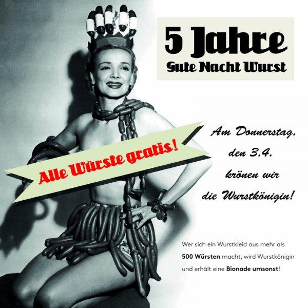 [Lokal München] Gratis Currywurst am Gärtnerplatz, Donnerstag, 03.04.2014