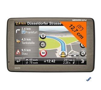 Navigationssystem MEDION® GoPal® E5470+ + 20,- Euro Einkaugsgutschein [www.plus.de]