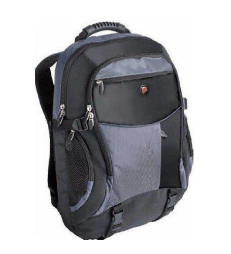 """[amazon.fr] Targus XL Notebook Case - Notebook-Rucksack - 43,2 cm (17"""") - Schwarz, Blau inkl .Vsk für 41,59 €"""