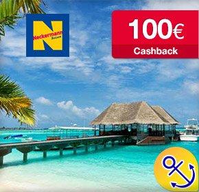 100€ Cashback bei Buchung einer Pauschalreise/Lastminutereise (ab 500€) bei Neckermann Reisen (Qipu)