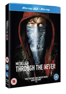 [amazon.uk] Metallica Through the Never [Blu-ray 3D + Blu-ray] inkl. Vsk für 13,84 €