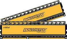 Crucial Ballistix Tactical DIMM Kit 8GB, DDR3-1866, CL9-9-9-27 @ZackZack