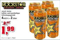 Rockstar Energy 3+1 packs für 1,99+Pfand