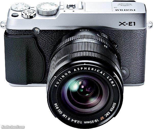 Fuji X-E1 + 18-55mm +50-230mm Doppelzoom-kit für 749€