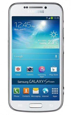 [vente-privee.com] Smartphone Galaxy S4 Zoom weiß / schwarz