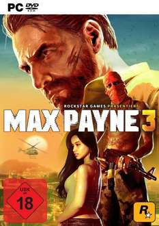Max Payne 3 (Premium Edition) PC für 3€ @Saturn