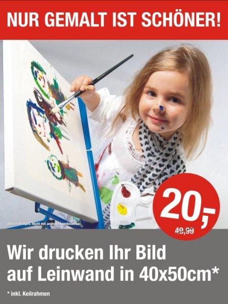 Fotoleinwand auf Keilrahmen im Format 40x50cm für 20€ BERLIN LOKAL