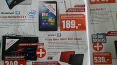 [lokal: Berlin] Lenovo IdeaTab Miix2-8 Win8-Tablet mit Office nur 189,- Euro