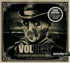 VOLBEAT - Outlaw Gentlemen & Shady Ladies (Limited Tour Edition) [CD+DVD] - 8,99 inkl. Versand @ Amazon.de