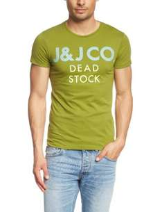 JACK & JONES Herren T-Shirt Slim Fit 12070300 GRAD TEE S/S