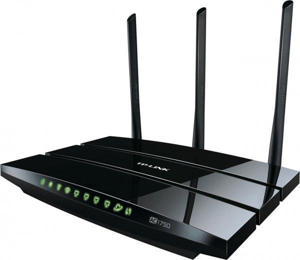 TP-LINK Archer C7 - Wireless AC1750 Dualband Gigabit Router für 88,55€ @Amazon.es
