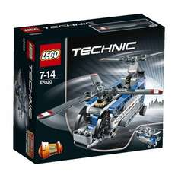 Lego Technic 42020 - Doppelrotor-Hubschrauber - 10,06 €   @amazon.de