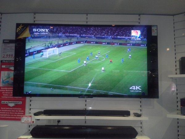 Sony KD65X9005 4K Fernseher für 2999€ Bei Mediamarkt  ( Lokal)