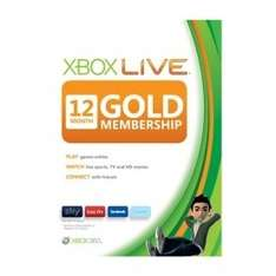 XBOX Live Gold 13 Monate für 29€, 4200 XBOX Live Punke für 30€ bei Shop4de.com