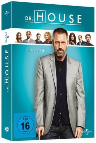 Dr House Staffel 6 NEU Deutsch für 21,95€ Versandkostenfrei!