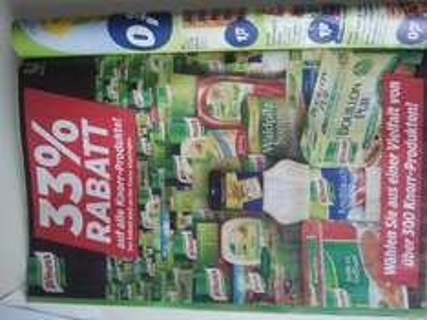33% Rabatt auf alle Knorr-Produkte @real [lokal?]