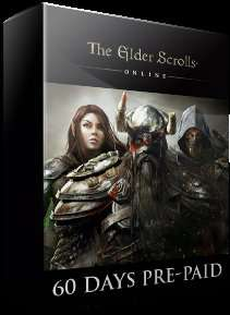 The Elder Scrolls Online 60 Tage Game Time Card