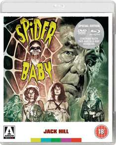 [Bluray+DVD] Spider-Baby @zavvi.es/.nl