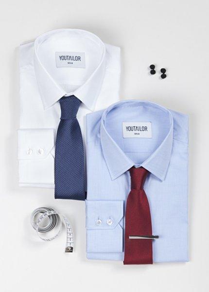Mehr als 60% Rabatt - YouTailor Box 2 Masshemden + accessoires