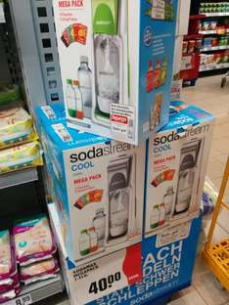 Sodastream Megapack REWE Berlin, ggf. Bundesweit