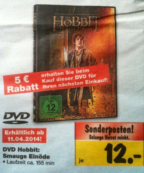 [Kaufland Lokal?] DVD Hobbit: Smaugs Einöde für effektiv 7€ ab 11.04.