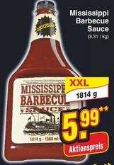 [Netto o. Hund] Mississippi Barbecue Sauce 1,814 Kg