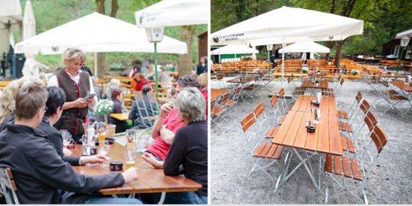 [Lokal Stuttgart] Gericht nach Wahl inkl. einem Getränk für 9,90 statt 19,70 Euro im Biergarten Schützenhaus Korb