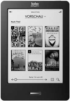 [STAPLES lokal Hamburg] Kobo Touch eBook-Reader