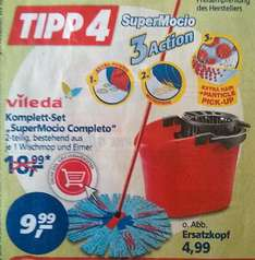 Vileda SuperMocio Komplett Set @ Real - € 9,99