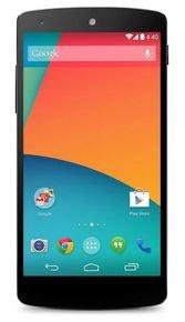 LG Google Nexus 5 16GB schwarz EU-Ware @ Notebooksbilliger.de für 307,89 EUR