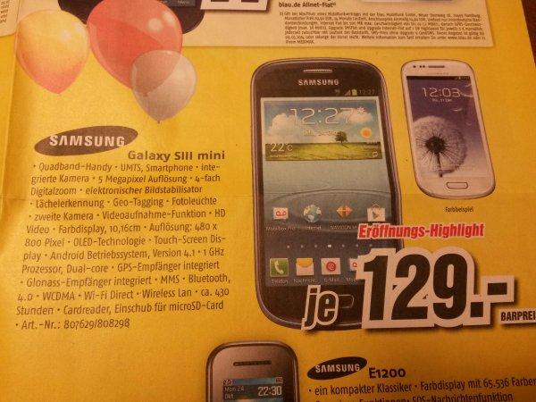 Samsung S3 mini @Medimax (Lokal)