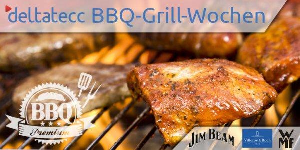 Barbecue-Grill-Wochen bei Deltatecc - Steba VG400 für 199,00 € - Jim Beam Grillzubehör unter Idealopreis
